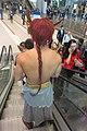 HKCEC Wan Chai North Filmart mall topless coplay red hair tail March 2019 IX2 08.jpg