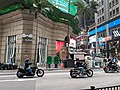 HK 中環 Central 皇后大道中 Queen's Road Central motorbike Male riders March 2020 SS2 09.jpg
