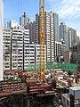 HK 石塘咀 Shek Tong Tsui 翰林峰 Novum West constrution site Nov 2017 IX1 06.jpg