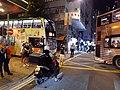 HK Sai Ying Pun Des Voeux Road West Water Street traffic jam due to illegal car parking October 2020 SS2 07.jpg