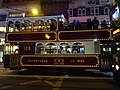 HK Wan Chai Johnston Road night 128 tram body March 2016 DSC.JPG