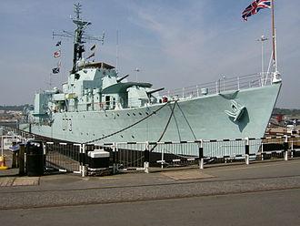 HMS Cavalier (R73) - Image: HMS Cavalier