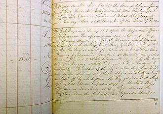 HDMS Lougen (1791) -  An extract from the logbook of Captain Perkins of HMS Arab. The log is available from the National Archives, Kew Cat. Ref ADM 51/1406