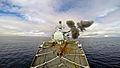 HMS Iron Duke Firing Her 4.5in Mk8 Gun MOD 45158423.jpg