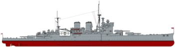 HMS Renown (1939) profile drawing.png