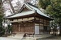 Haiden of Heichi-jinja (Nakaotsuka, Fujioka).jpg