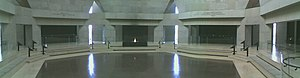 United States Holocaust Memorial Museum - Panoramic view of the Hall of Remembrance