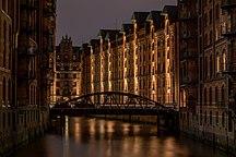 Hamburg-Împărțire administrativă-Hamburg, Speicherstadt, Block P -- 2016 -- 3330-6