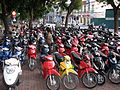 Hanoi, motorcycle parking (6222936861).jpg
