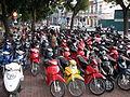 Hanoi, motorcycle parking (6222936861).jpg