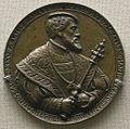 Hans reinhardt, medaglia bronzea di carlo V.JPG
