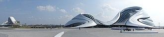 Harbin Grand Theatre - A panorama view of Harbin Grand Theatre