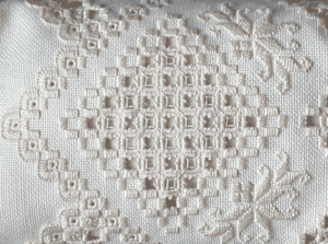 Hardanger embroidery - Example of modern Hardanger embroidery work