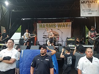Harms Way (band) American band