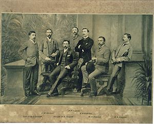 Walter Hadow - The Hadow family. Walter Hadow is seated second right.
