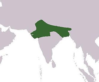 Harsha - Territorial reach of Harsha.