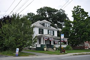 Hartford Village, Historic District. Gelistet im NRHP