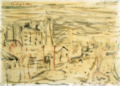 HasegawaToshiyuki-1937-View of a City.png