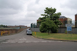 Haslar Immigration Removal Centre - Image: Haslar Entrance