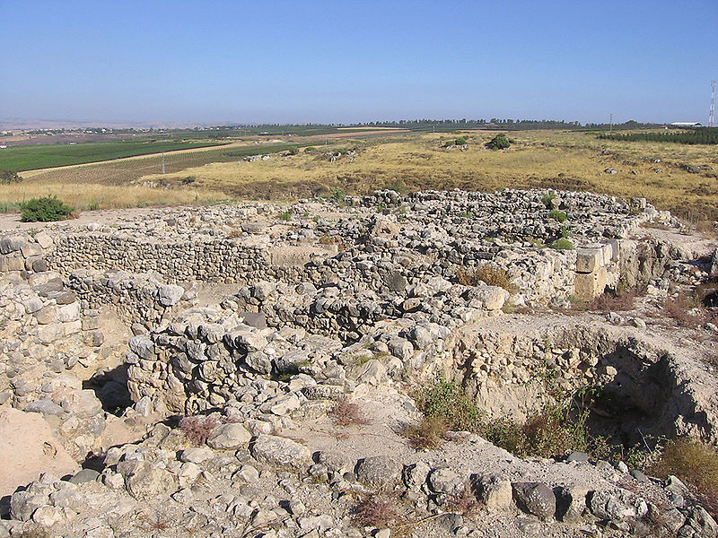 Archivo:Hatzor-IsraeliteBastion.jpg