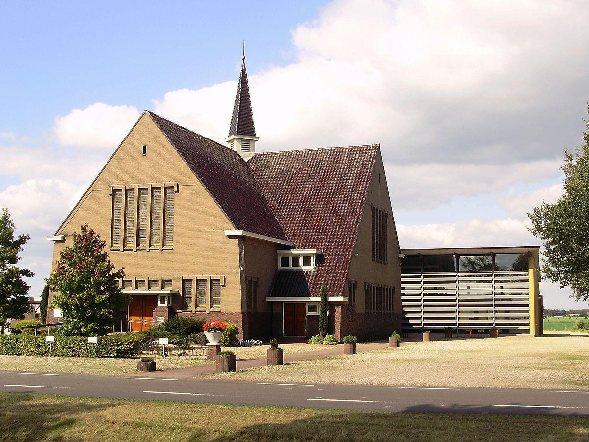 Gereformeerde kerk haulerwijk wikipedia - Expressionistische architectuur ...
