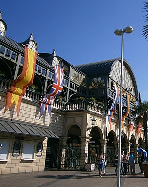 Europa-Park - The entrance of the park