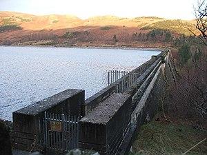 Haweswater Reservoir - Dam of Haweswater Reservoir