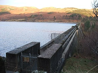 Haweswater Reservoir - Dam of Haweswater Reservoir