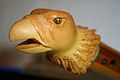 Hawk Littlejohn Eagle Head carving profile.jpg