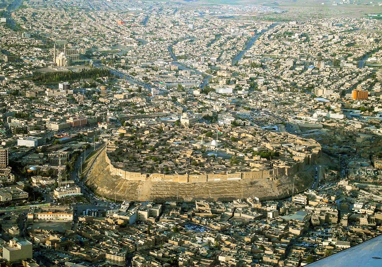 Die Zitadelle von Erbil, seit 2014 UNESCO-Weltkulturerbe