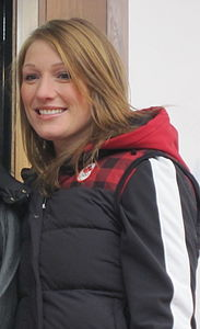 Heather Moyse on Whistler.JPG