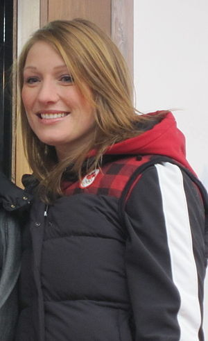 Heather Moyse - Heather Moyse in Vancouver 2010