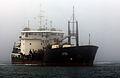 "Heavy Commercial Dredge Ship the ""Yakquina"".jpg"