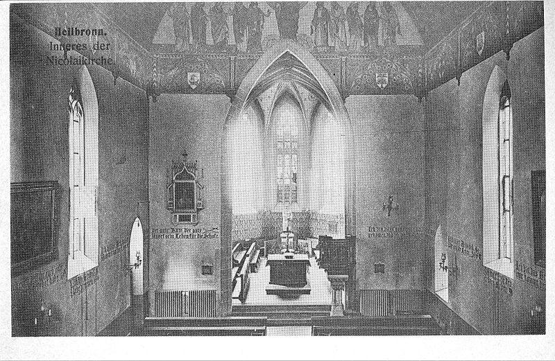 nikolaikirche (heilbronn) - wikiwand, Innenarchitektur ideen