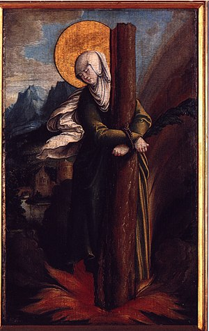 Saint Afra - Saint Afra, by the Master of Messkirch, c. 1535-1540