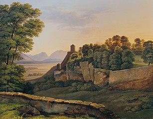 Der Mönchsberg bei Salzburg