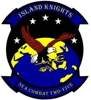 HSC-25 - Image: Helicopter Sea Combat Squadron 25 (US Navy) patch 2015