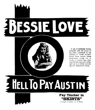 Hell-to-Pay Austin - Newspaper advertisement