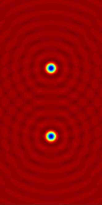 Helmholtz equation - Image: Helmholtz solution