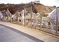Hemp fibre fencing, Eden Project, St Blaise CP - geograph.org.uk - 655338.jpg