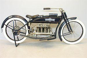 Henderson Motorcycle - 1916 Henderson Model F