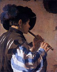 Hendrick ter Brugghen: Boy Playing a Fife