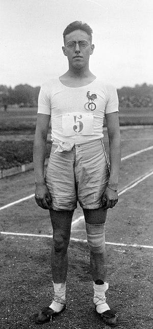 Henri Bernard - Henri Bernard in 1921