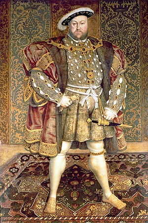 Portrait of Henry VIII - Image: Henry VIII Belvoir Castle