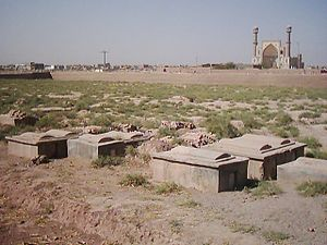History of the Jews in Afghanistan - Jewish cemetery in Herat, Afghanistan.