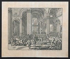 Het stormen der Beelden, in Vlaanderen en Brabandt A°. 1568. begonnen, en terstond door geheel Nederlandt verspreyt.