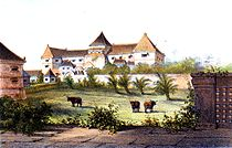 Kenongo building in 1859