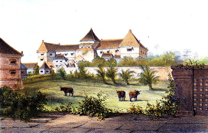 Berkas:Het waterkasteel te Djokjakarta.jpg