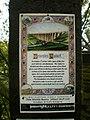 Hewenden Viaduct, Information board - geograph.org.uk - 1592053.jpg