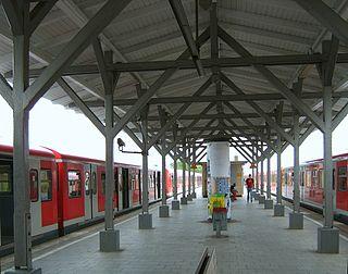Rothenburgsort station railway station in Hamburg, Germany